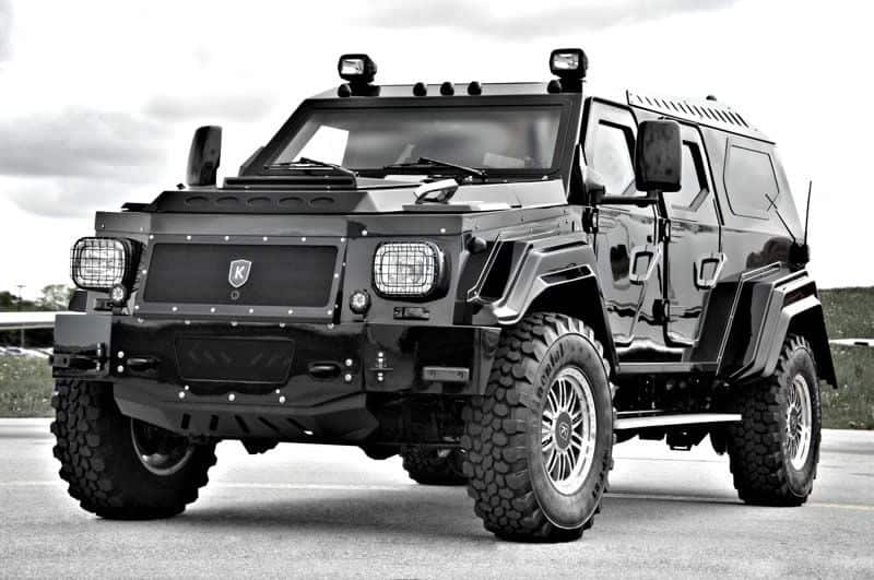 The Knight X5 by Conquest Vehicles