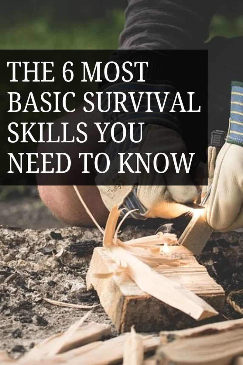 survival skills pin image